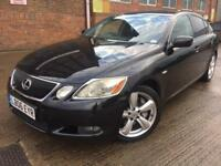 Lexus GS 300 3.0 SE AUTO Petrol Black 166k Full History + HUGE SPEC