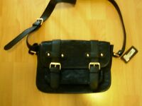 Black with lace body bag - Material Girl - New