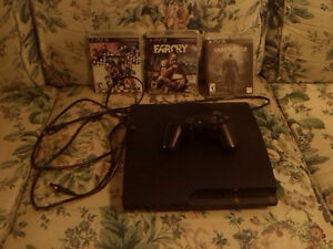 Ps3 + Controller + 3 games