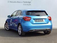 Mercedes-Benz A Class A 200 D SPORT PREMIUM (blue) 2016-01-07