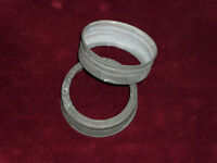 ZINC WASHERS For Crown or Corona Mason Jars lot of 2