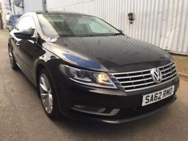 Volkswagen passat cc blue motion technology, full main dealer service history