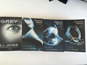 Cinquante nuances de Grey (3 tomes) + Grey