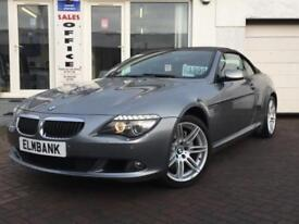 2009 09 BMW 635D AUTO CONVERTIBLE 3.0TD SPORT~LOW MILES~ 1 YEAR MOT~SALE PRICE!!