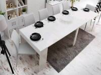 Extendable table white BRAND NEW