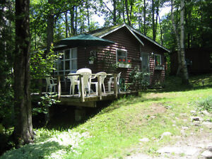 Amazing summer deal: cottage for 6 on lake with beach and deck