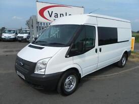 Ford Transit 2.2TDCi (100PS) (EU5) (RWD) 350L H/Roof Double 350 LWB