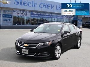 2017 CHEVROLET IMPALA LT - Leather Trimmed Seats, Alloy Wheels,