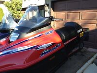 1997 Mountain Max Yamaha, excellent condition.