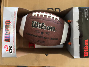 Authentic CFL football