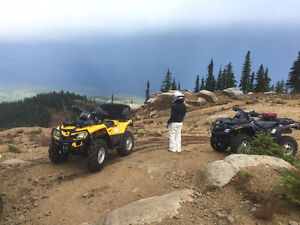 Can Am Outlander XT 500 (Pair)  One black one yellow