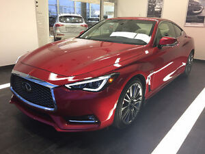 Employee Deal! 2017 Infiniti q60 3.0t Red Sport Lease Takeover