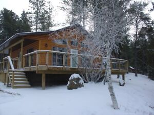 Lake Of The Woods winter cottage in Sioux Narrows