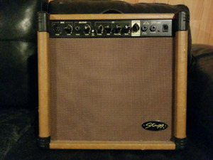 Stagg acoustic guitar amp - 40w - XLR powered.