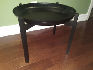 """Classic """"Table Table"""" reproduction side tables (two, $30/each)"""