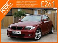 2013 BMW 1 Series 120I SE Petrol red Manual