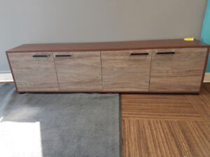 Entertainment stand,bench seat,storage
