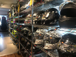 SELECT MOTORCYCLE HELMETS NOW 40% OFF AT HFX MOTORSPORTS!!