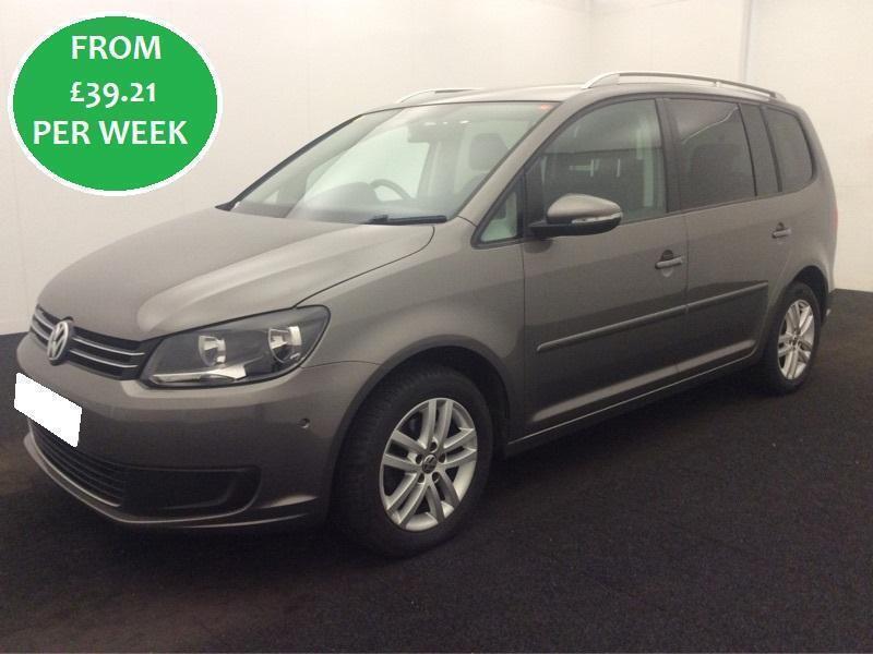 £169.89 PER MONTH Volkswagen Touran 1.6 TDI 2010 SE MPV