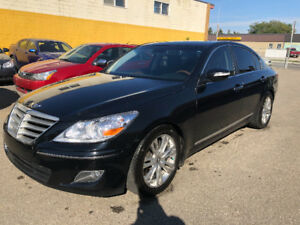 2009 HYUNDAI GENASIS FULLY LOADED LEATHER AC AND HEATED SEATS