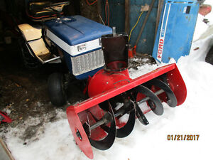 Ford Lawntractor with Snowblower