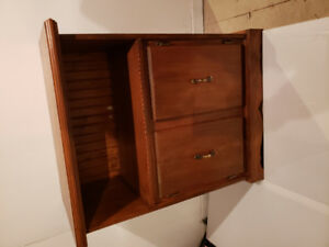 """TV stand with 2 doors $50 OBO 30"""" x 18"""" x 36"""""""