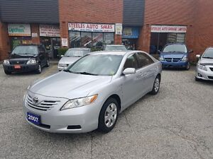 ***2007 TOYOTA CAMRY LE 1 OWNER CLEAN CARPROOF***