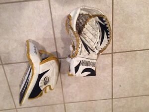 Youth goalie glove and blocker