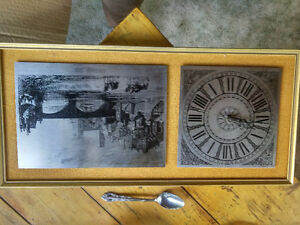 Wall clock from England