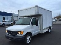 2006 Ford E-350 14' Cube Van Moving Truck