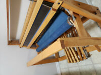 Leclerc weaving floor loom..