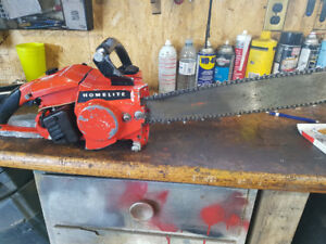 Good running chain saw