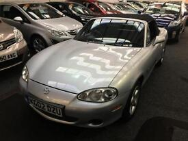2002 MAZDA MX 5 1.8i 2dr From GBP2950+Retail package.