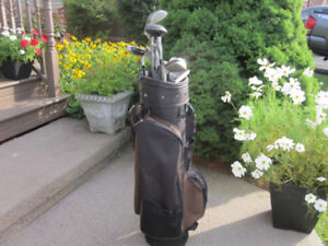 Men's Right Hand 12-pc Golf Clubs Set (Pro Select SE) & Bag
