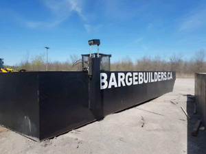 Sectional barges