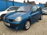 2004/04 Renault Clio 1.6 DYNAMIQUE 1 YEAR MOT 2 OWNERS SERVICE HISTORY