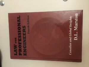 Law for Professional Engineers Fourth Edition, Textbook