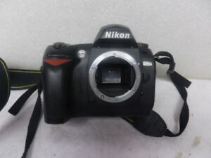 Nikon D70 Digital SLR Camera. New charger and  new battery.