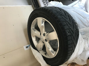 """20"""" Winter Tires on Rims only used for half a season !!!!!!!"""
