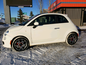 2013 Fiat 500c sport fully loaded 2 sets of new tires