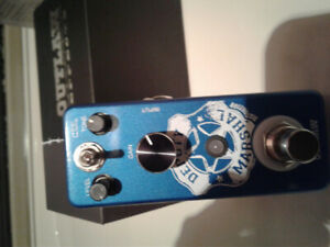 Deputy marshal distortion outlaw pedal new