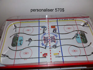 LNH JEU DE HOCKEY TABLE BOARD COLECO GAME ROOM MONTREAL QUEBEC West Island Greater Montréal image 6