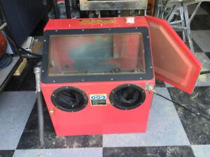 Sand Blast Cabinet - benchtop