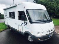 2001 (51) HYMER B544 A CLASS 5 BERTH MOTOR CARAVAN German built Diesel