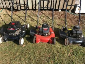 Light Push Gas Mowers