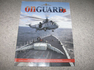 On Guard Magazine-Canadian Forces Directory 2013/2014-like new