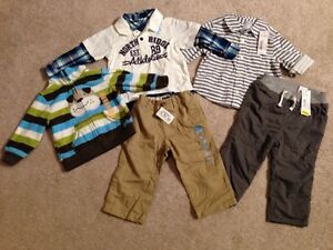 12 month / 12-18 month Brand New Boy Clothes - Tags Attached!