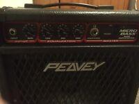Mini bass amp by Peavy 20 watt