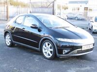 Honda Civic 1.8i-VTEC Sport, 2005, Black, 79 000 Miles, FSH, 6 Month AA Warranty