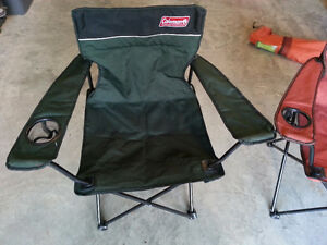 Pair of Coleman camp chairs